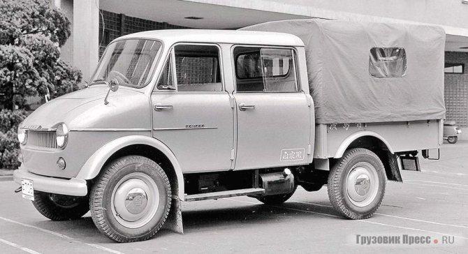 Romper – первая коммерческая машина компании Mazda, разработанная с прицелом на рынки стран Тихоокеанского региона