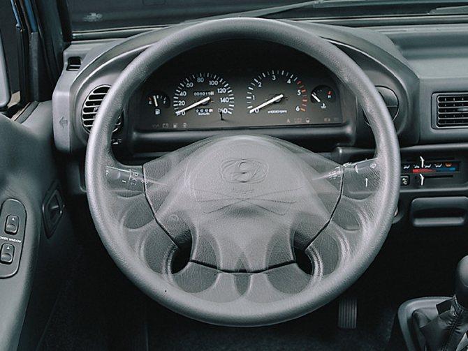 Руль Hyundai Porter