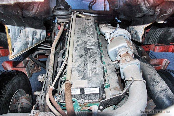 Рядная 11-цилиндровая «шестёрка» FAW CA6DM2 стандарта Euro 4