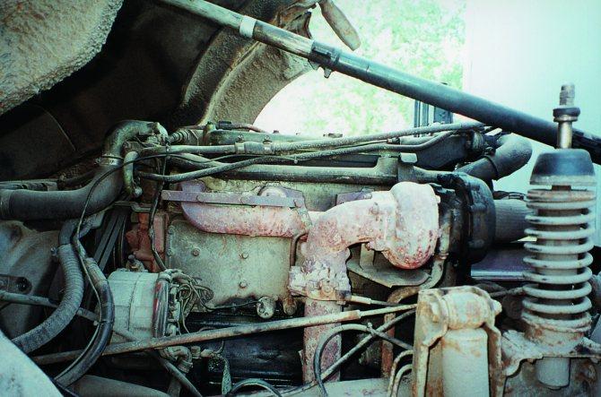 Рядный шестицилиндровый двигатель с турбонаддувом ОМ 353
