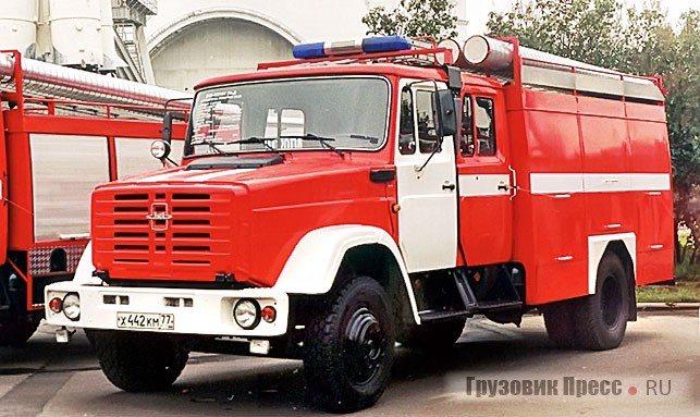 С 1998 г. под обозначением мод. 003-ММ шла бензиновая машина с двигателем ЗИЛ-508.10 (150 л.с.), серийно собиравшаяся на конвейере. Позже, в 1999 г., извещением в строке ТУ поменяли базовое шасси ЗИЛ-433114 на ЗИЛ-433104М. Образец 2000–2001 гг. АЦ-3,2-40 (433104) мод.003-ММ – на ВВЦ