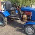 Самодельные полноприводные трактора с двигателями УАЗ