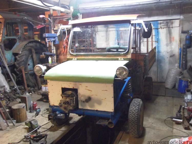 Самодельный мини грузовик