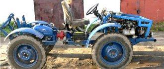 Самодельный трактор переломка 4 4 своими руками с двигателем от Оки