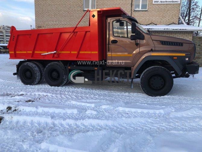 Самосвал 6х4 Урал НЕКСТ 73945-5121-01