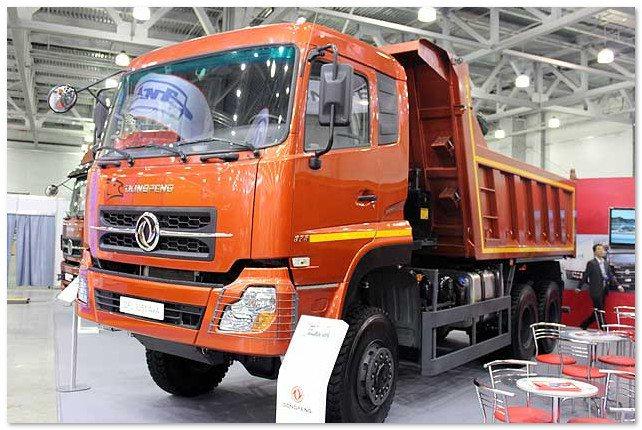 самосвал Dongfeng DFL 3251 AXA