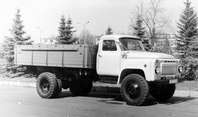 Самосвал Газ 53: технические характеристики грузовика