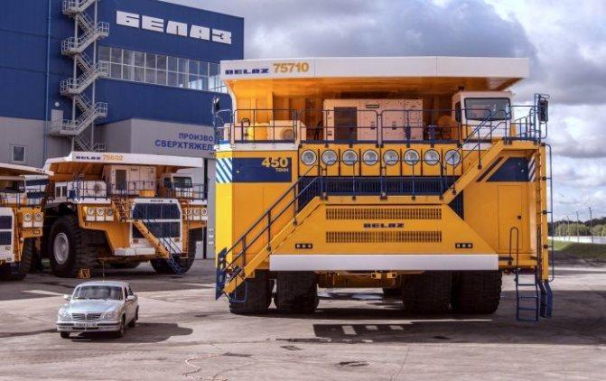 Самый большой грузовик в мире серийного производства