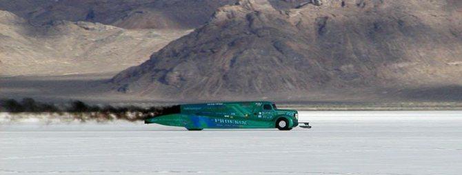 самый быстрый дизельный грузовик Phoenix