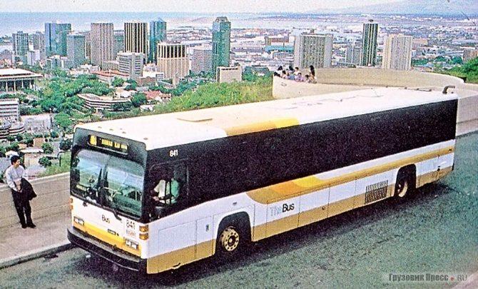 Scania CN112, собранный в США, на Гавайях, 1984 г.