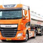 Седельный тягач DAF XF Euro 6 510 4х2 (TEH4300E) с полуприцепом для наливных грузов