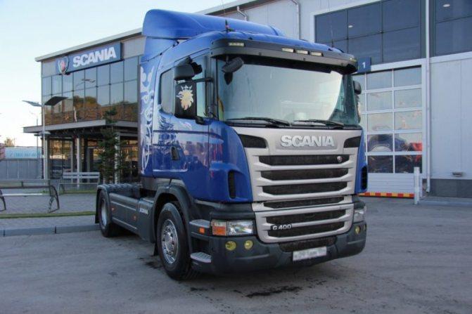 Середняки Scania в Российской Федерации