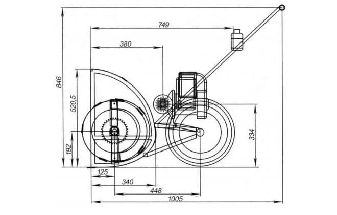 Схема для машины