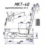 Схема габаритов МКТ