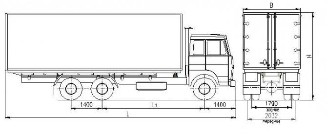 Схема МАЗ6303