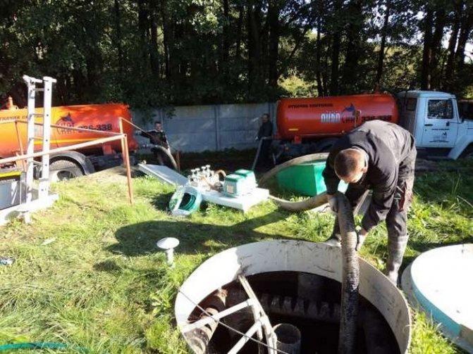 шланг для откачки канализации