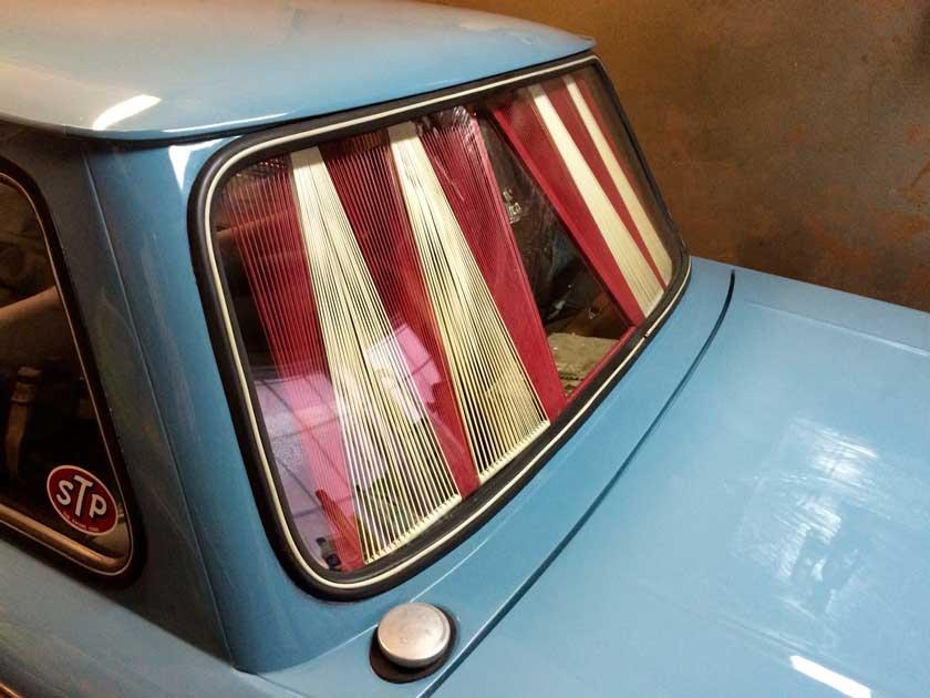 Шторки на заднем стекле ВАЗ 2106 - отечественный тюнинг авто