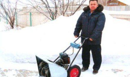 Снегоуборщик из бензопилы своими руками чертежи