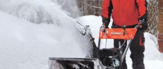 Снегоуборщик Патриот в России