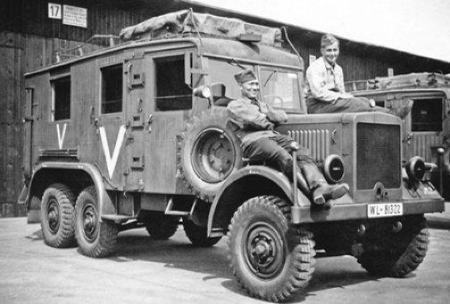 Специализированные машины на базе MAN Einheits-Diesel