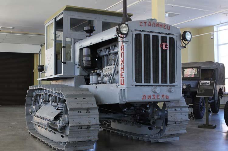 Сталинец советский трактор