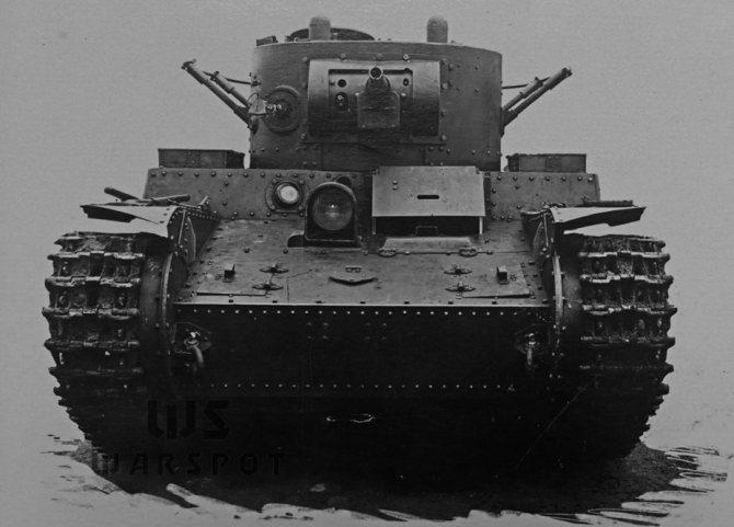 Т-46 стал первым в мире пушечным танком, оснащённым огнемётом. - Колёсно-гусеничный тупик   Warspot.ru