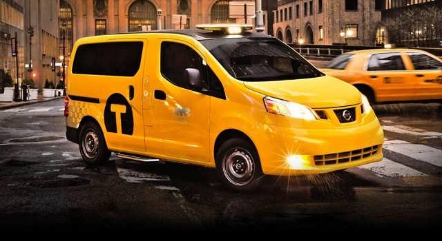 Такси в Нью-Йорке nv200