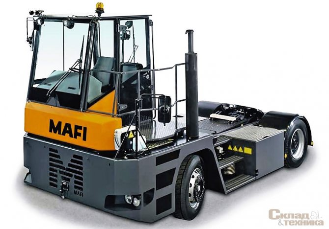 Терминальный тягач MAFI MT25
