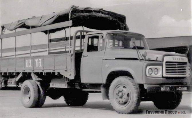 Toyota DA 115 продержалась в экспортной программе Toyota Motor Co. до 1989 г.