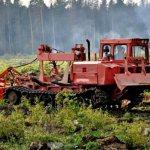 Трактор за работой