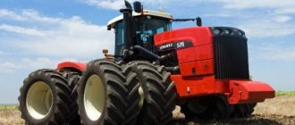 Трактора Buhler Versatile