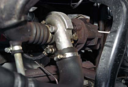 Турбокомпрессор двигателя «ГАЗели» – седельного тягача