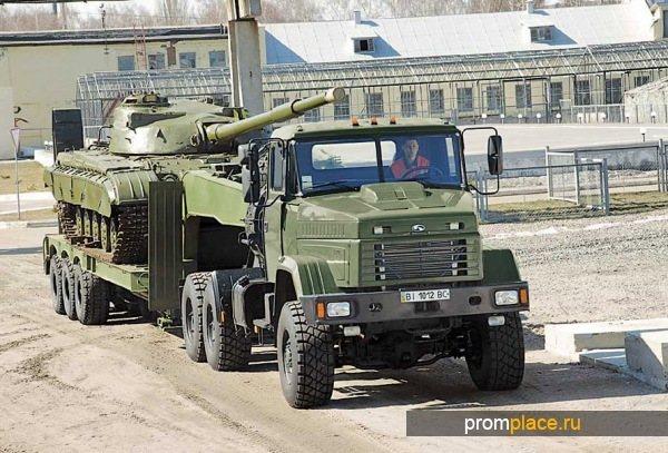 Тягач КрАЗ 260