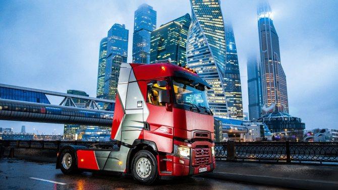 тягач Renault Trucks T-High Турмалин