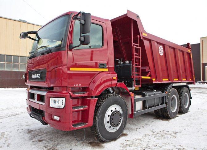 Тяжелый самосвал КАМАЗ-6580 (6х4) в Красноярске от официального дилера