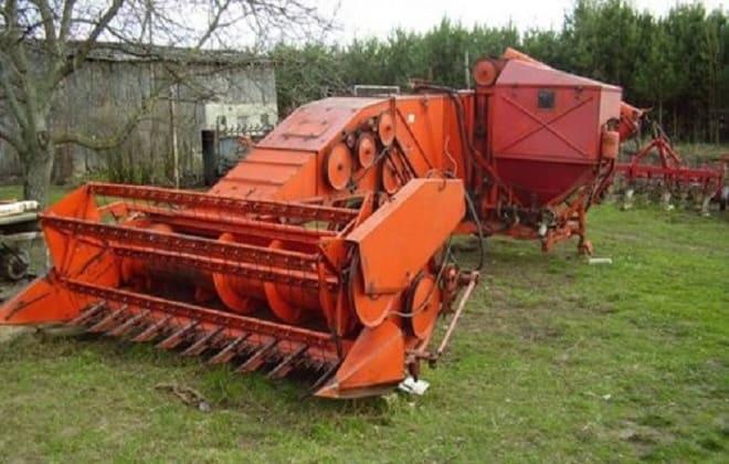 Устройство для сбора зерна