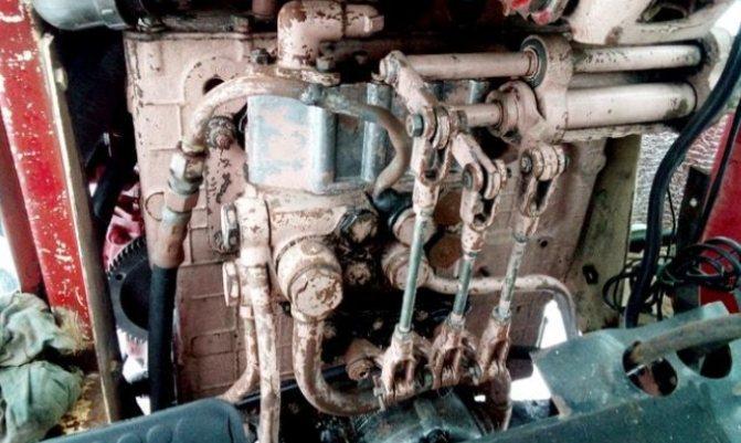 Устройство трактора МТЗ-80, гидравлика