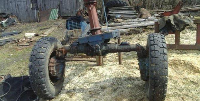 Устройство трактора МТЗ-80