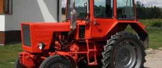 Устройство трактора Т-25