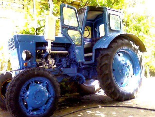 Устройство трактора Т-40