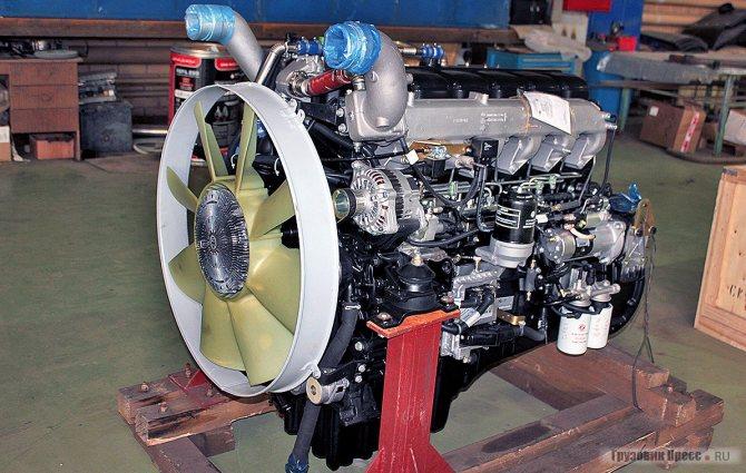 В 2014 году карьерный самосвал «Тонар-4525» получил двигатель российского производства
