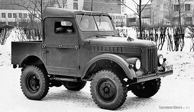 В конструкции ГАЗ-50 широко применялись комплектующие от ГАЗ-69