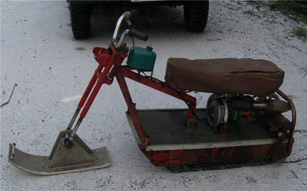Вариант снегохода