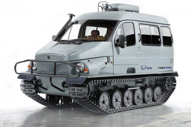 Вездеход ГАЗ 3409