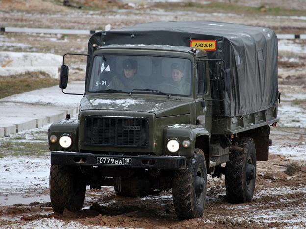 Военная модификация ГАЗ-3307