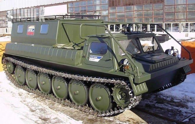 Военный Вездеход ГАЗ-34039