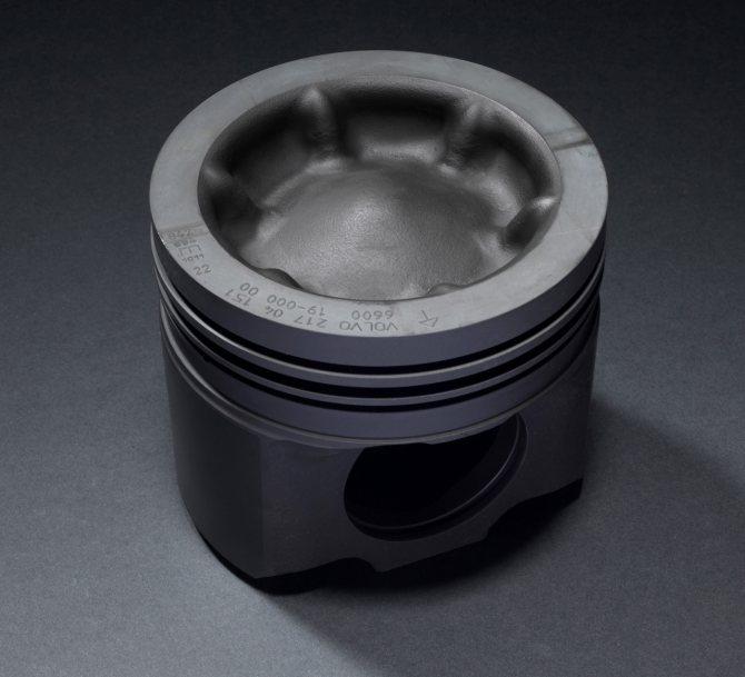 Волновой поршень в новой Volvo vnl