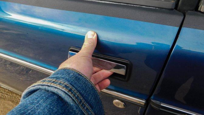 Volvo 240 дверная ручка