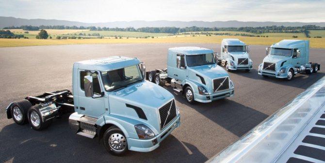 Volvo VNL американские грузовики магистральник