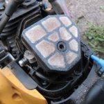 воздушный фильтр бензопилы